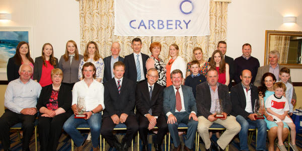 Carberry Milk Quality Award Winners 2014