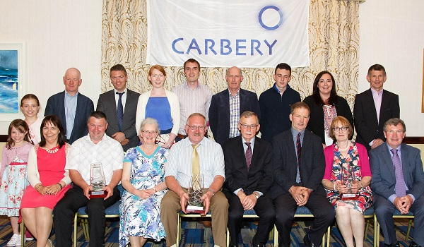 Carbery Milk Quality Award Winners 2015