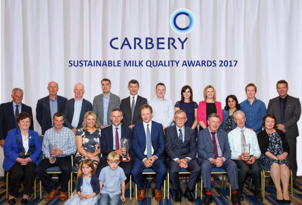Carbery Milk Quality Award Winners 2016