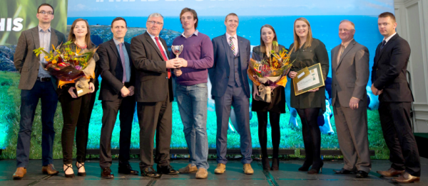 National runner-up in the NDC Quality Milk Awards 2015
