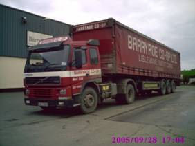barryroe co-op delivery lorry